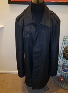 Kenneth Cole Reaction L Black Trench